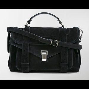 PROENZA SCHOULER PS1 Medium black designer bag